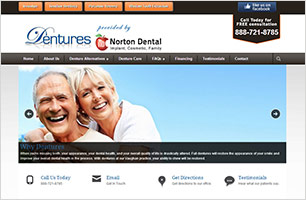 Dentures InfoSite by Now Media Group