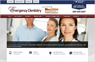 Emergency Dentistry InfoSite by Now Media Group