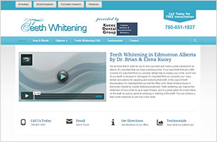 Teeth Whitening InfoSite by Now Media Group
